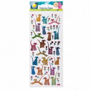 Stickers Metallic - Kitty