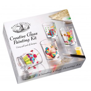 Creative Glass Painting Kit