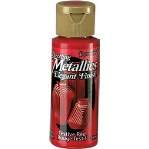 Dazzling Metallics Paint 59ml Festive Red