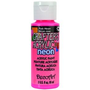 Acrylic Paint (2oz) - Neon Pink