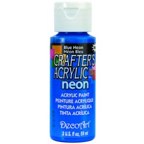 Acrylic Paint (2oz) - Neon Blue