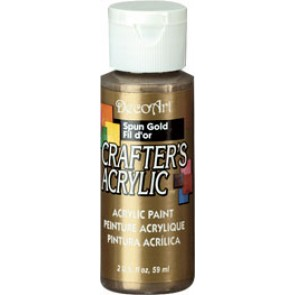 Acrylic Paint (2oz) - Metallic Spun Gold