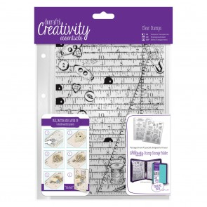 A5 Clear Background Stamp (1pc) - Haberdashery