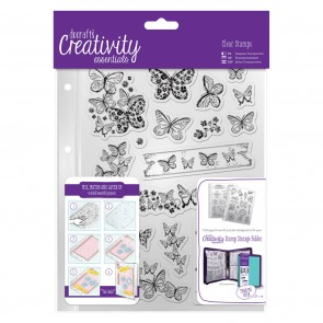 A5 Clear Stamp Set (16pcs) - Butterflies