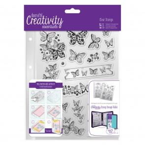 A5 Clear Stamp Set (16pcs) - Butterflies