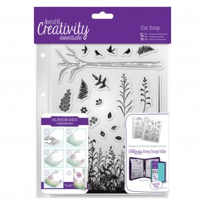 A5 Clear Stamp Set (20pcs) - Forest