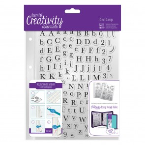 A5 Clear Stamp Set (129pcs) - Alphas Trad