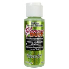 Glamour Dust Ultra Fine Glitter Paint 59ml Limelight