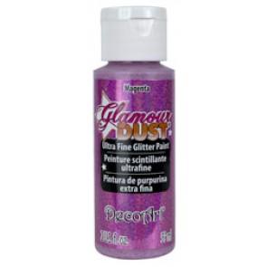 Glamour Dust Ultra Fine Glitter Paint 59ml Magenta