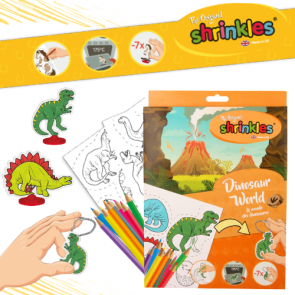 Shrinkles Bumper Pack 35cm - Dinosaur World