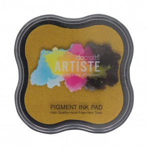 Pigment Ink Pad - Dark Yellow