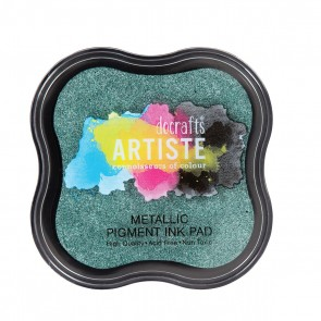 Pigment Ink Pad - Metallic Evergreen