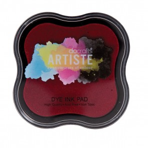 Dye Ink Pad - Red