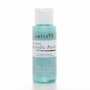 Speciality Pearlescent Paint (2oz) - Pearl Frosted Mint