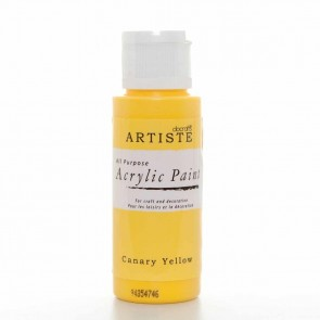 Acrylic Paint (2oz) - Canary Yellow