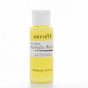 Acrylic Paint (2oz) - Banana Yellow