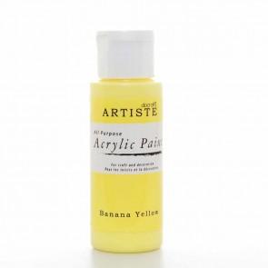 Acrylic Paint (2oz) - Banana Yellow