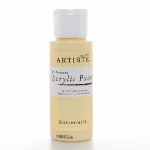 Acrylic Paint (2oz) - Buttermilk