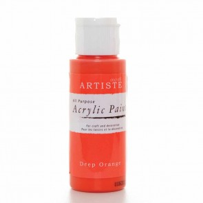 Acrylic Paint (2oz) - Deep Orange