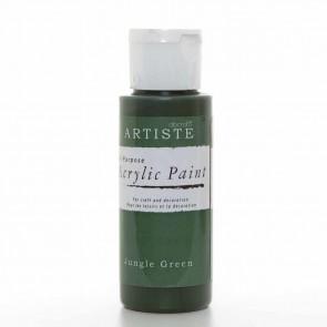 Acrylic Paint (2oz) - Jungle Green