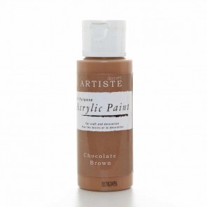 Acrylic Paint (2oz) - Chocolate Brown