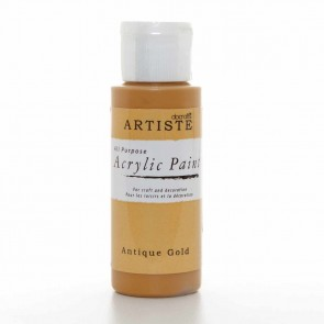 Acrylic Paint (2oz) - Antique Gold