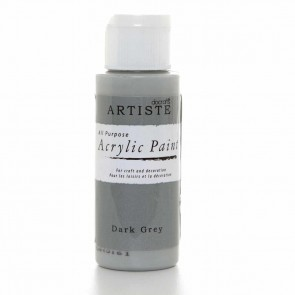 Acrylic Paint (2oz) - Dark Grey