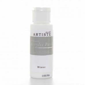 Acrylic Paint (2oz) - Blanc