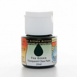 Glass Paint (20ml) - Aquaglass - Tea Green