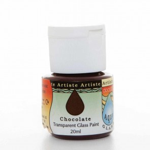 Glass Paint (20ml) - Aquaglass - Chocolate