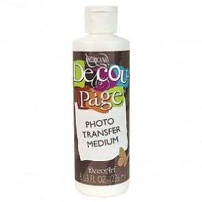 Decou-Page Photo Transfer Medium 236ml