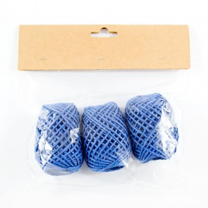 Paper String Balls 30m Royal Blue