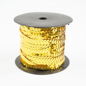 Sequin String 6mm Gold (91 Metres)