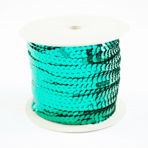 Sequin String 6mm Jade (91 Metres)