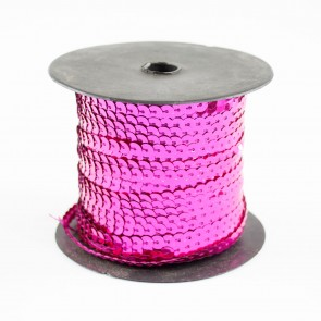 Sequin String 6mm Cerise (91 Metres)