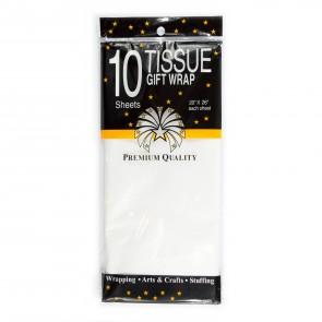 """Tissue Paper 20X26"""" (10 Pack) White"""