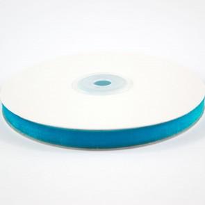 Velvet Ribbon 9mm Blue (10 Metres)