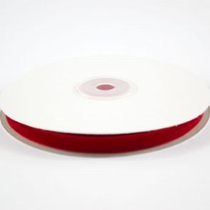Velvet Ribbon 9mm Ruby Red (10 Metres)