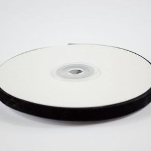 Velvet Ribbon 9mm Black (10 Metres)