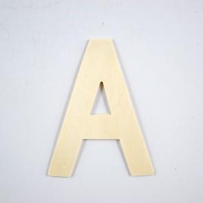 Wood Letter 10cm A