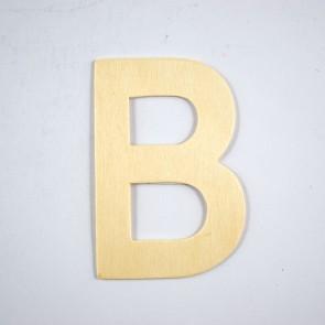 Wood Letter 10cm B