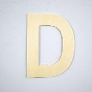 Wood Letter 10cm D