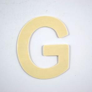 Wood Letter 10cm G