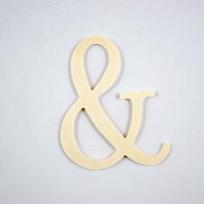 Wood Letter 10cm &