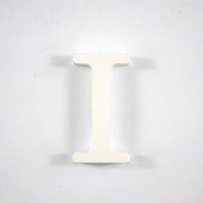 Wood Letter 6cm White I