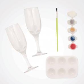 Glass Painting Kit (2pk) - Simply Make - Flutes