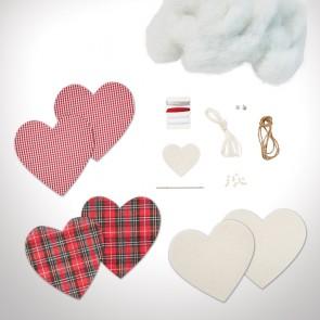 Christmas Hearts Kit (3pk) - Simply Make