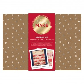 Hanging Advent Calendar - Simply Make