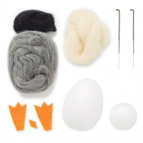 Needle Felting Kit - Simply Make - Penguin