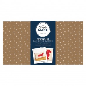 Cushion Kit - Simply Make - Dachshund